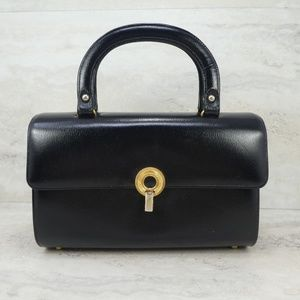 3 for $20- Vintage Mastercraft Black Handbag Purse